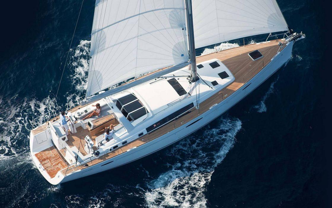 Yacht Sailing Cruse wallpaper