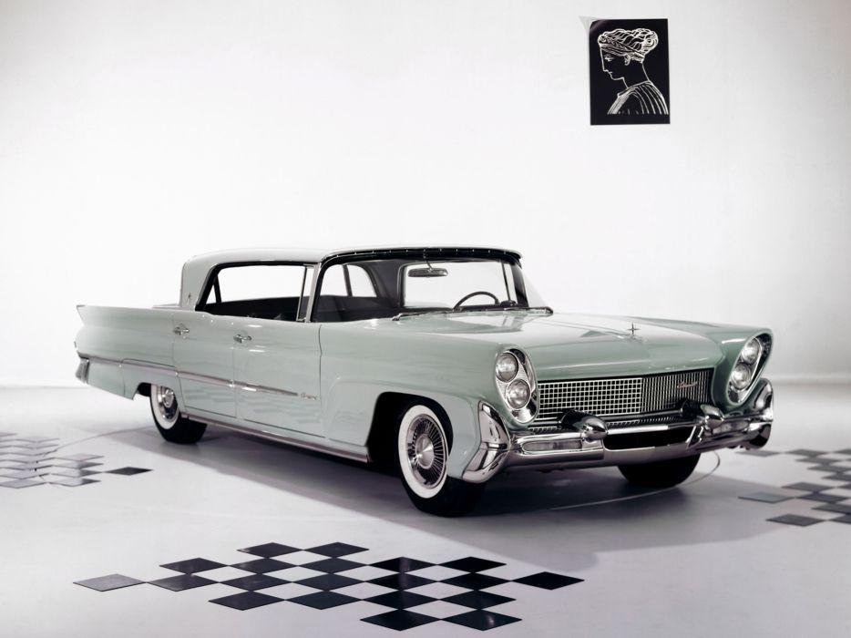 1958 Lincoln Continental Mark III Landau 75A luxury retro   d wallpaper