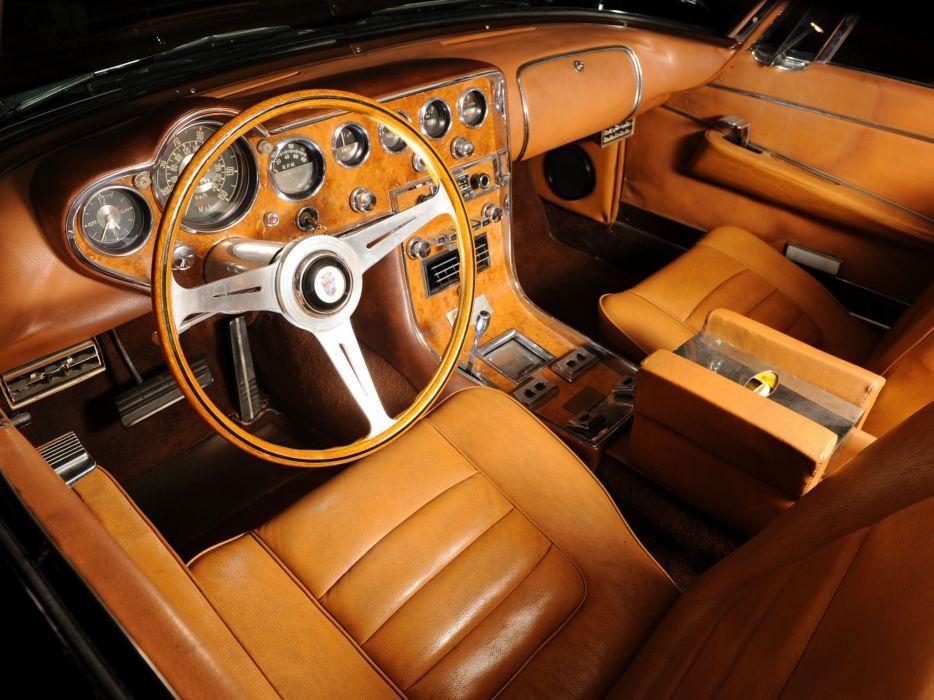 1960 Dual-Ghia L6_4 Coupe classic luxury interior   f wallpaper
