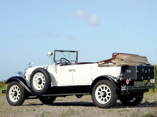 1928 Horch 8-305 Tourer retro convertible f wallpaper