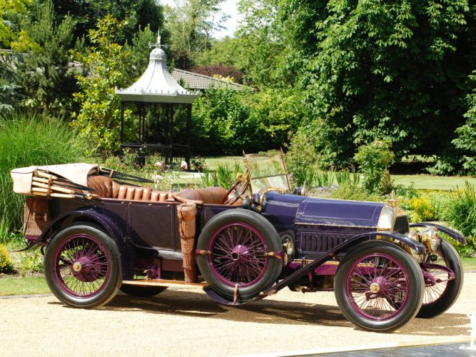 1913 Peugeot Type-145S Tourer convertible retro luxury f wallpaper