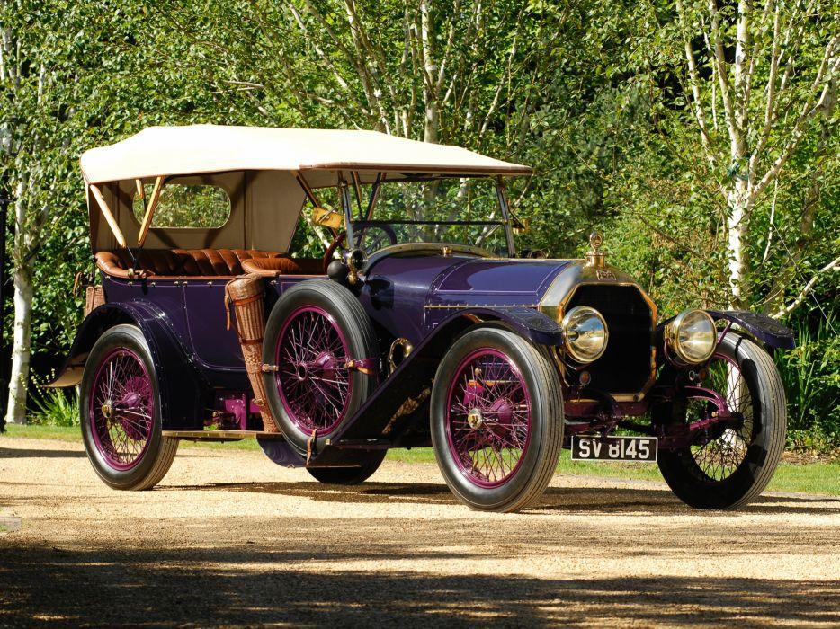 1913 Peugeot Type-145S Tourer convertible retro luxury wallpaper