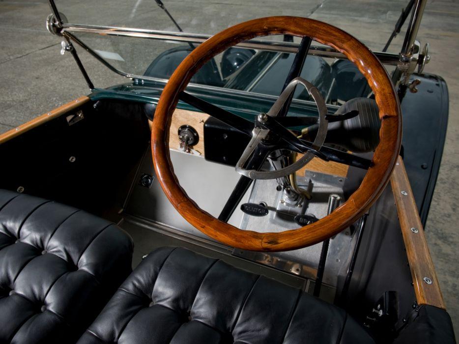 1913 Rambler Cross Country Touring retro interior      h wallpaper