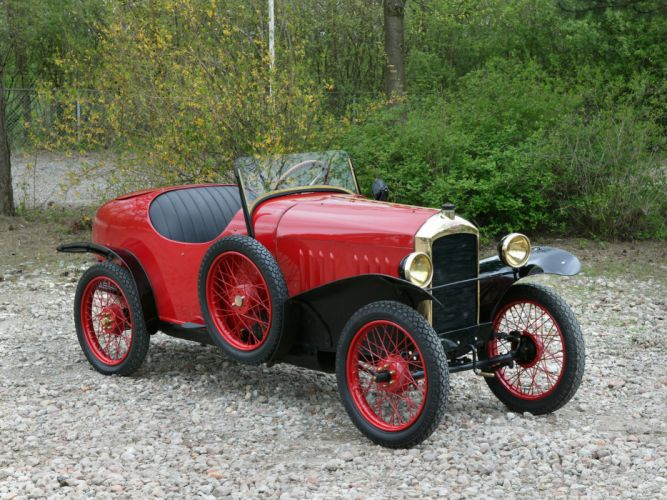 1923 Peugeot Type-172 Quadrilette retro wallpaper