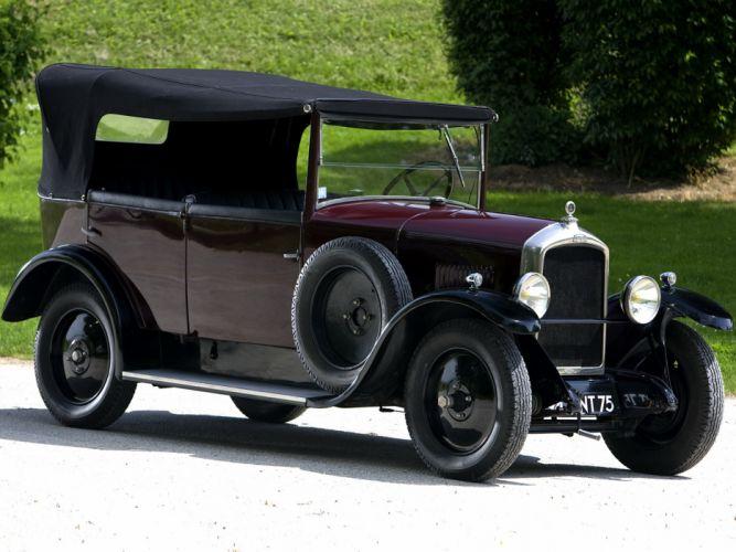1924 Peugeot Type-177 Torpedo retro convertible wallpaper