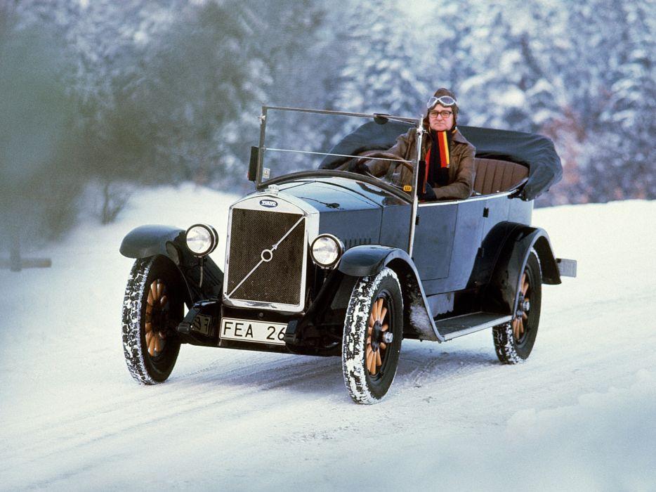 1927 Volvo OV4 Jakob retro convertible          g wallpaper