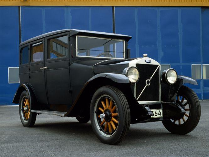 1927 Volvo PV4 retro f wallpaper