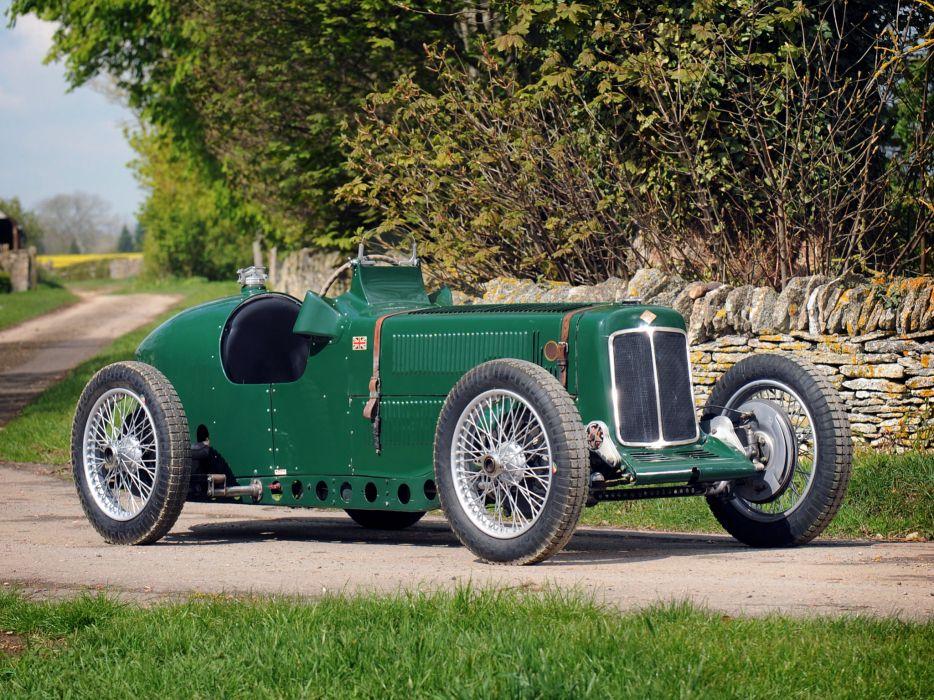 1928 Riley Brooklands 9-HP Bob Gerard Monoposto Special retro supercar race racing wallpaper
