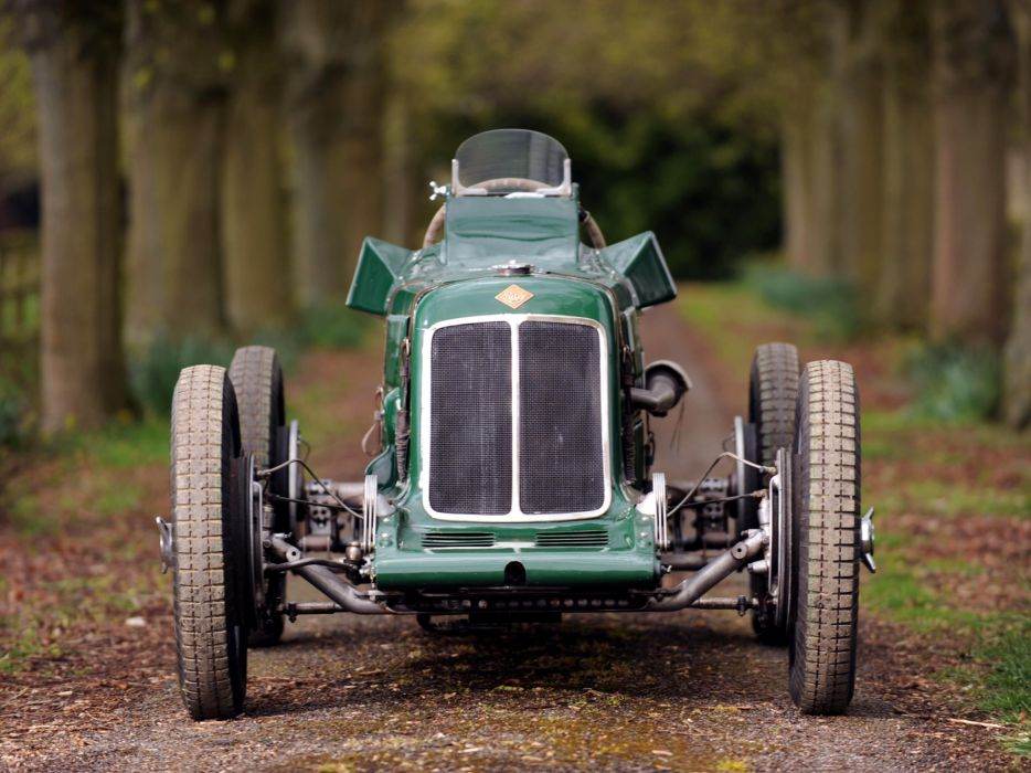 1928 Riley Brooklands 9-HP Bob Gerard Monoposto Special retro supercar race racing wheel      f wallpaper
