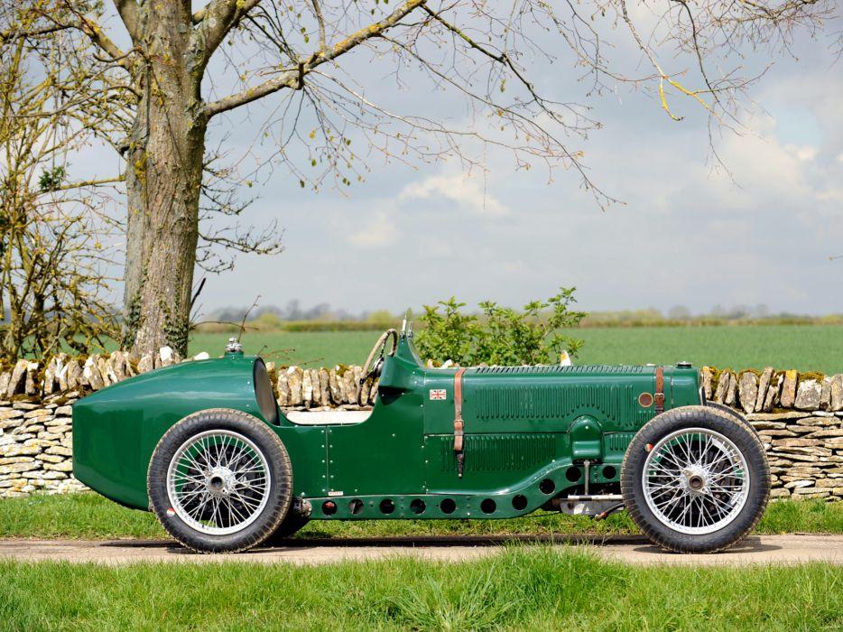 1928 Riley Brooklands 9-HP Bob Gerard Monoposto Special retro supercar race racing  g wallpaper