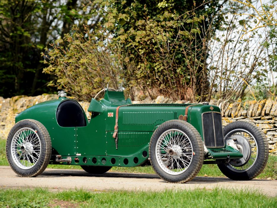 1928 Riley Brooklands 9-HP Bob Gerard Monoposto Special retro supercar race racing    e wallpaper