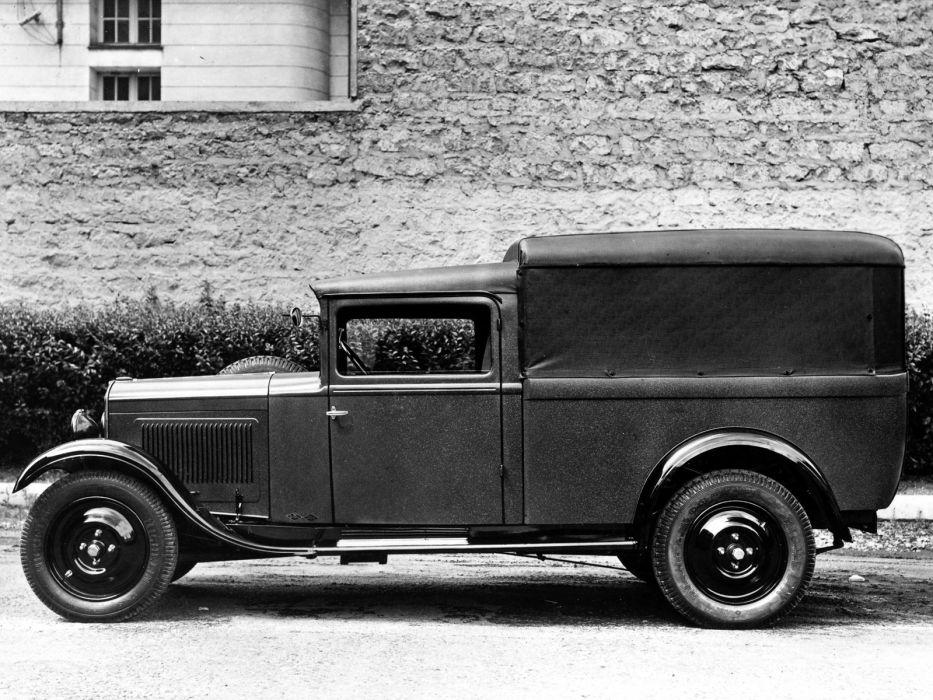 1929 Peugeot 201 Boulangere delivery transport retro    g wallpaper