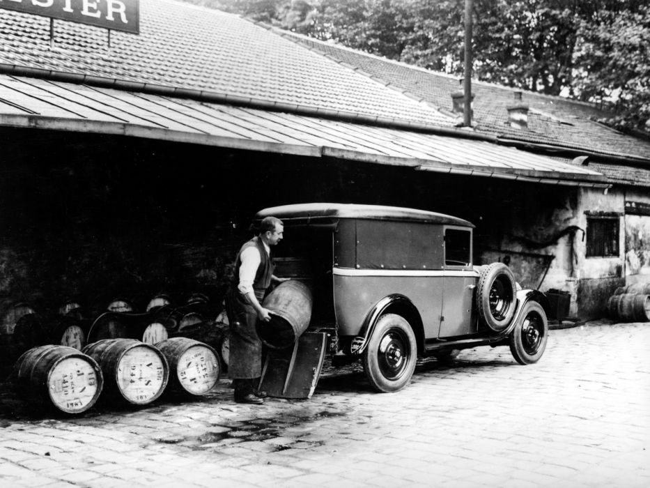 1929 Peugeot 201 Boulangere delivery transport retro wallpaper