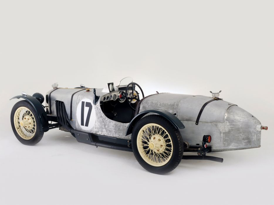 1929 Riley Brooklands race racing retro wallpaper
