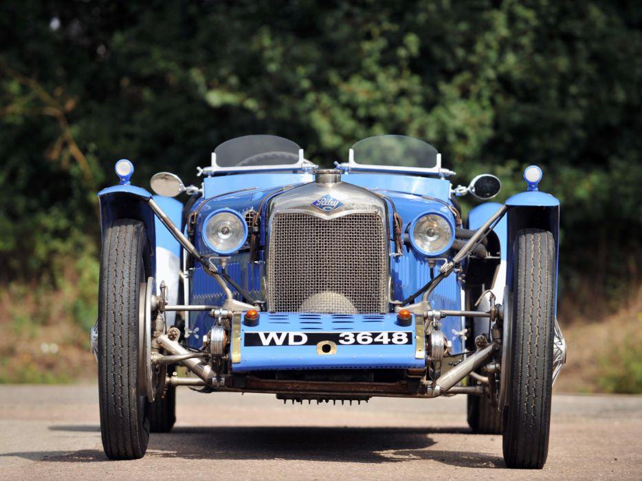1929 Riley Brooklands race racing supercar retro  f wallpaper