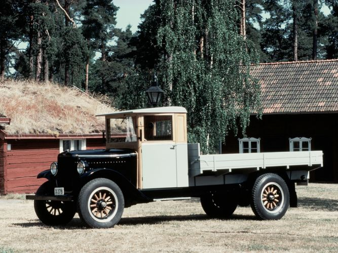 1929 Volvo Truck Series-3 pickup retro wallpaper