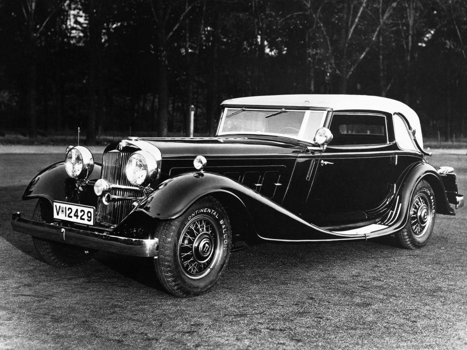 1931 Horch 670 Sport Cabriolet retro wallpaper