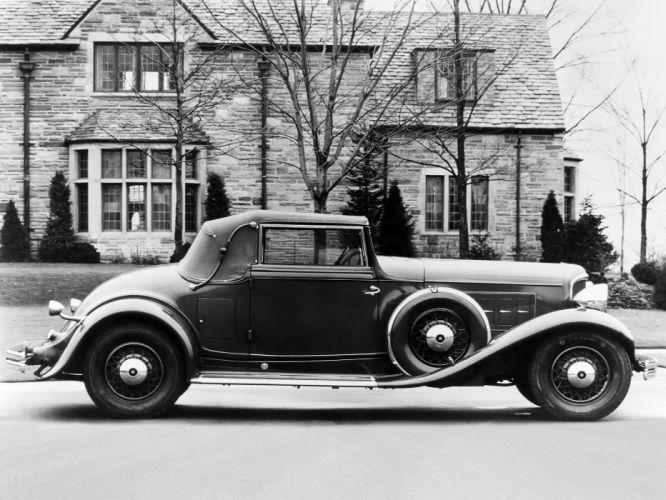 1931 REO Royale Convertible Coupe retro luxury wallpaper