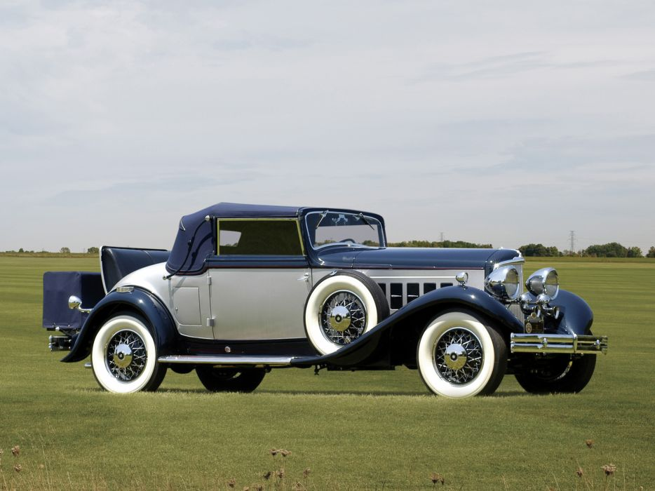 1931 REO Royale Convertible Coupe retro luxury     h wallpaper