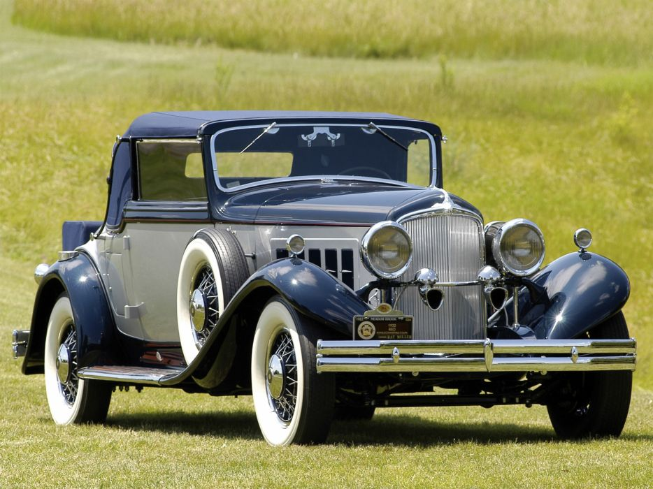 1931 REO Royale Convertible Coupe retro luxury  g wallpaper