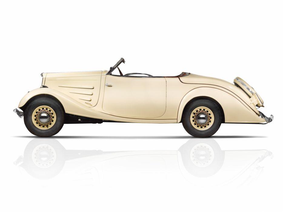 1934 Peugeot 401 Eclipse retro convertible luxury   h wallpaper