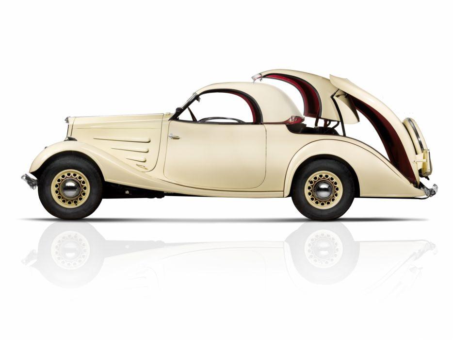 1934 Peugeot 401 Eclipse retro convertible luxury wallpaper