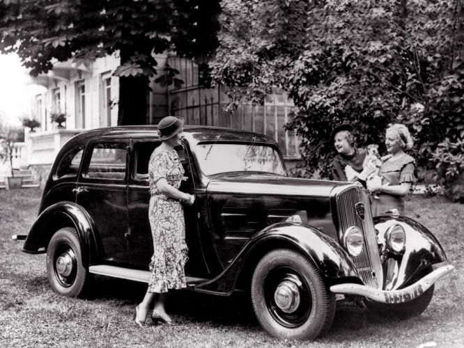 1934 Peugeot 401 retro d wallpaper