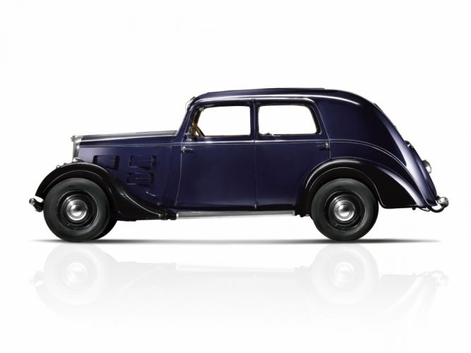 1934 Peugeot 401 retro wallpaper