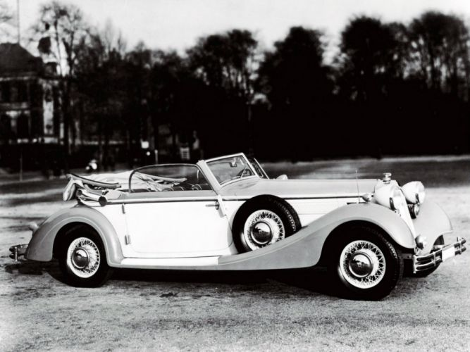 1935 Horch 853 Sport Cabriolet retro convertible wallpaper