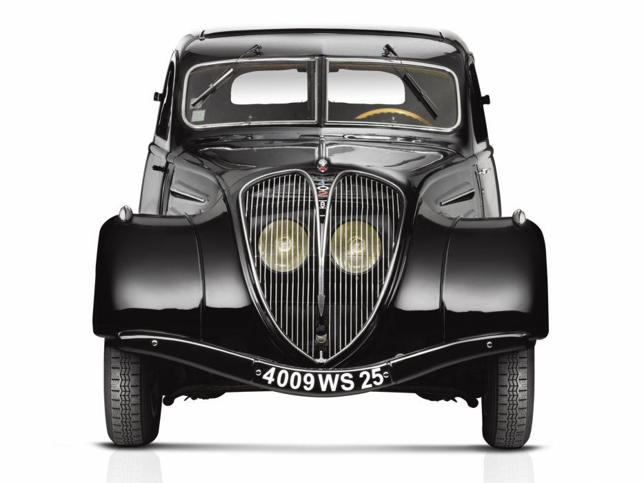 1935 Peugeot 402 Limousine luxury retro wallpaper