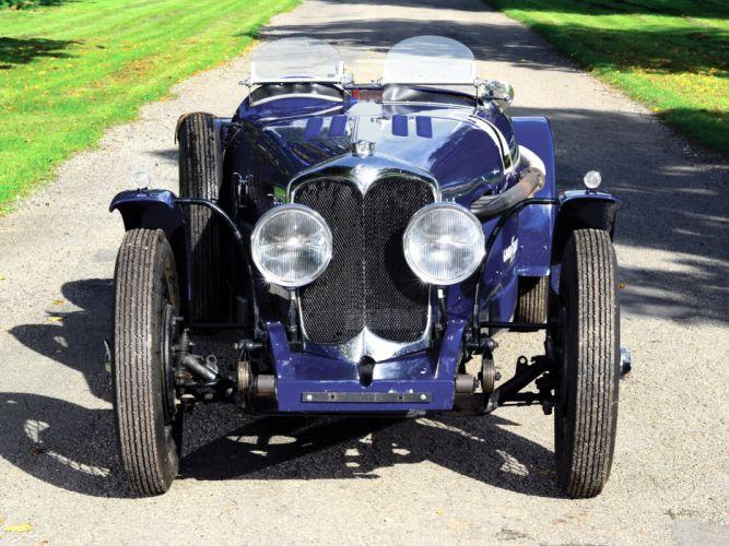 1935 Riley 12-4 Special race racing supercar retro r wallpaper