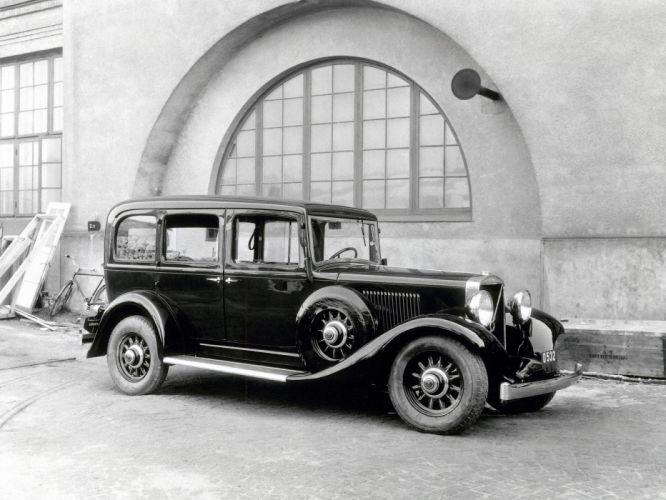 1935 Volvo TR701 Taxi retro wallpaper