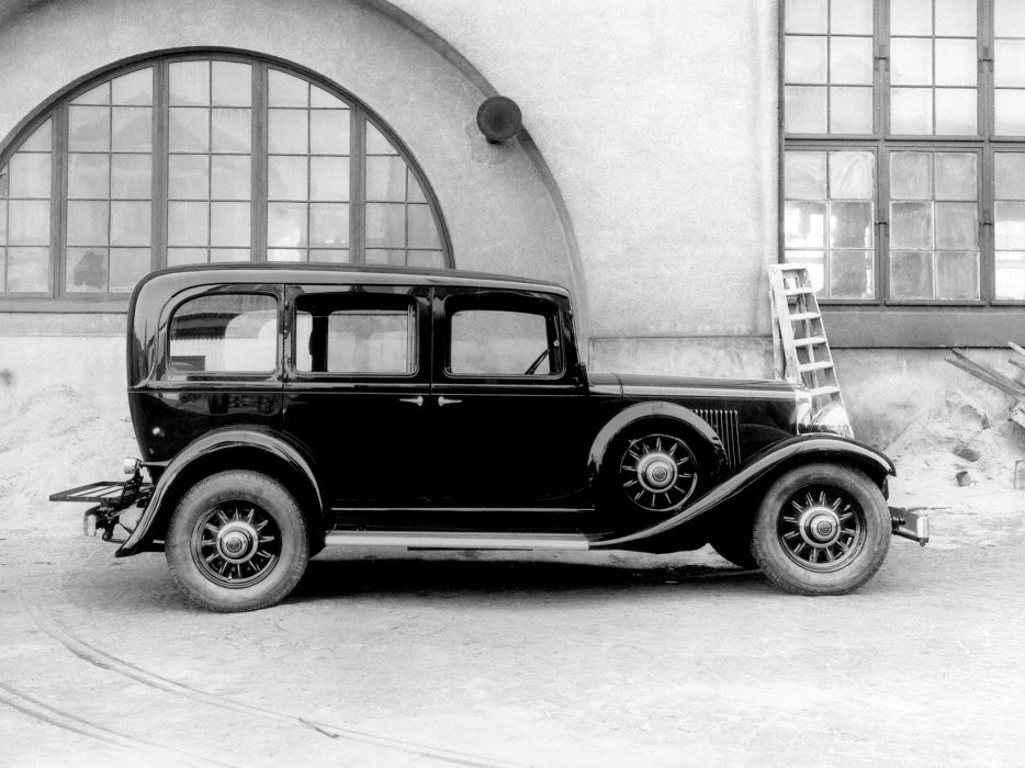1935 Volvo TR701 Taxi retro    f wallpaper