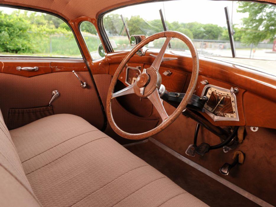 1936 Panhard Dynamic X77 luxury retro interior       h wallpaper