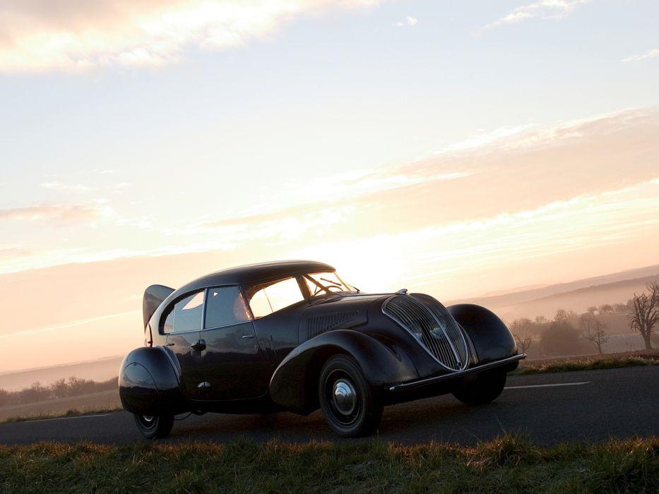 1936 Peugeot 402 Andreau retro supercar g wallpaper
