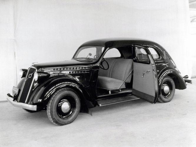 1936 Volvo PV51 retro interior h wallpaper