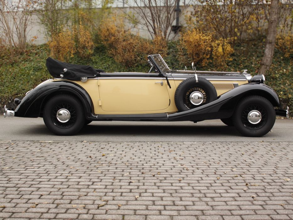 1937 Horch 853 A Sport Cabriolet retro luxury   g wallpaper