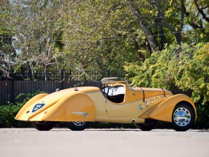 1937 Peugeot 402 Darl'mat Special Sport Roadster supercar retro h wallpaper