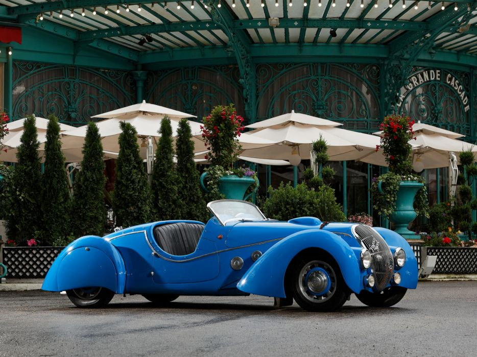 1937 Peugeot 402 Darl'mat Special Sport Roadster supercar retro   jd wallpaper