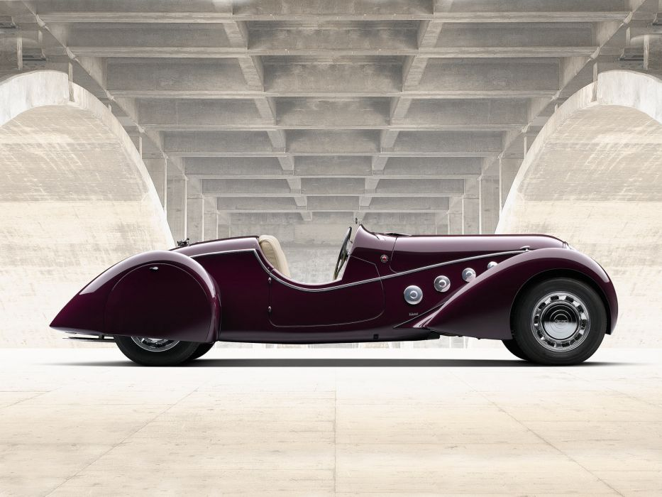 1937 Peugeot 402 Darl'mat Special Sport Roadster supercar retro   jh wallpaper