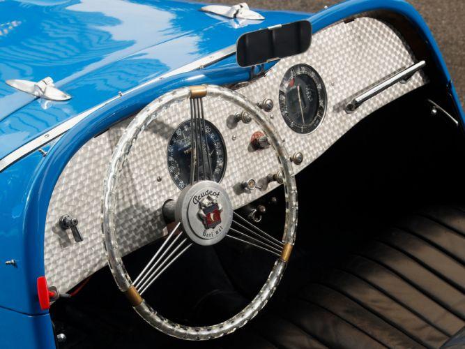 1937 Peugeot 402 Darl'mat Special Sport Roadster supercar retro interior f wallpaper