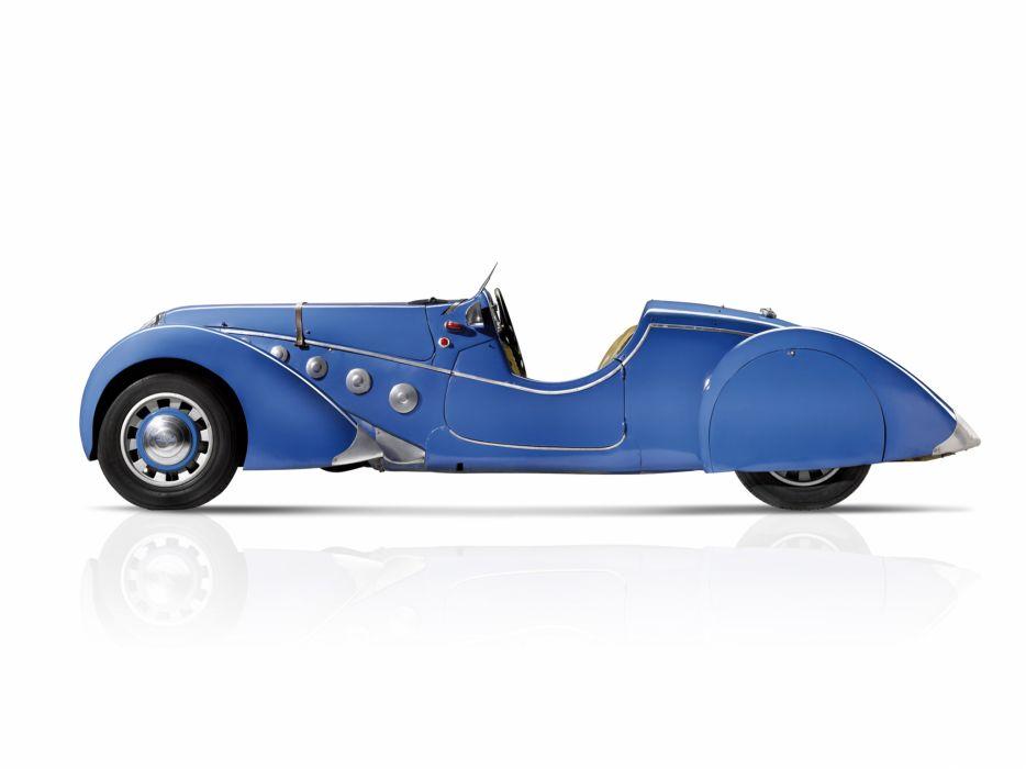 1937 Peugeot 402 Darl'mat Special Sport Roadster supercar retro  g wallpaper