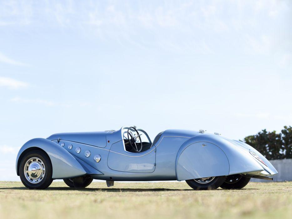 1937 Peugeot 402 Darl'mat Special Sport Roadster supercar retro  r wallpaper