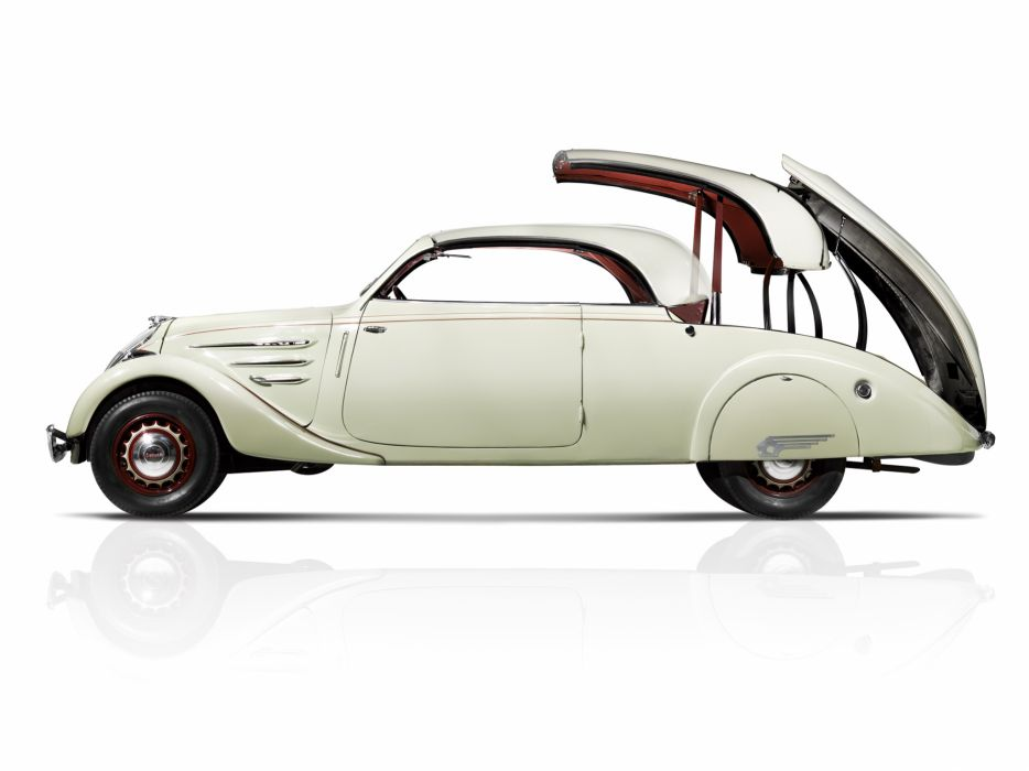 1937 Peugeot 402L Eclipse retro luxury convertible  g wallpaper