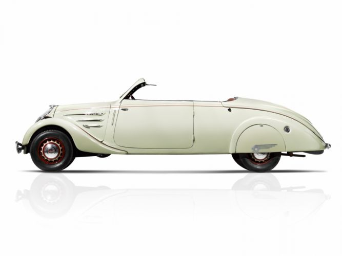 1937 Peugeot 402L Eclipse retro luxury convertible g wallpaper