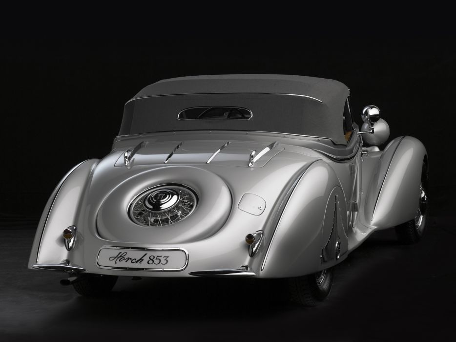 1938 Horch 853 Special Roadster by Erdmann & Rossi retro luxury convertible    hj wallpaper