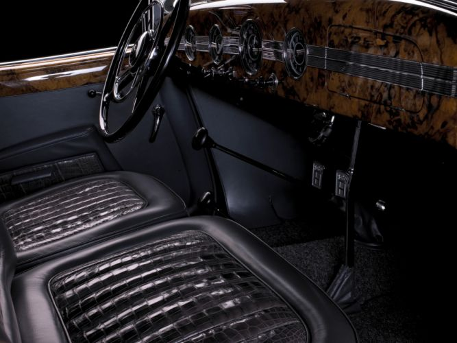1938 Horch 853 Special Roadster by Erdmann & Rossi retro luxury convertible interior g wallpaper