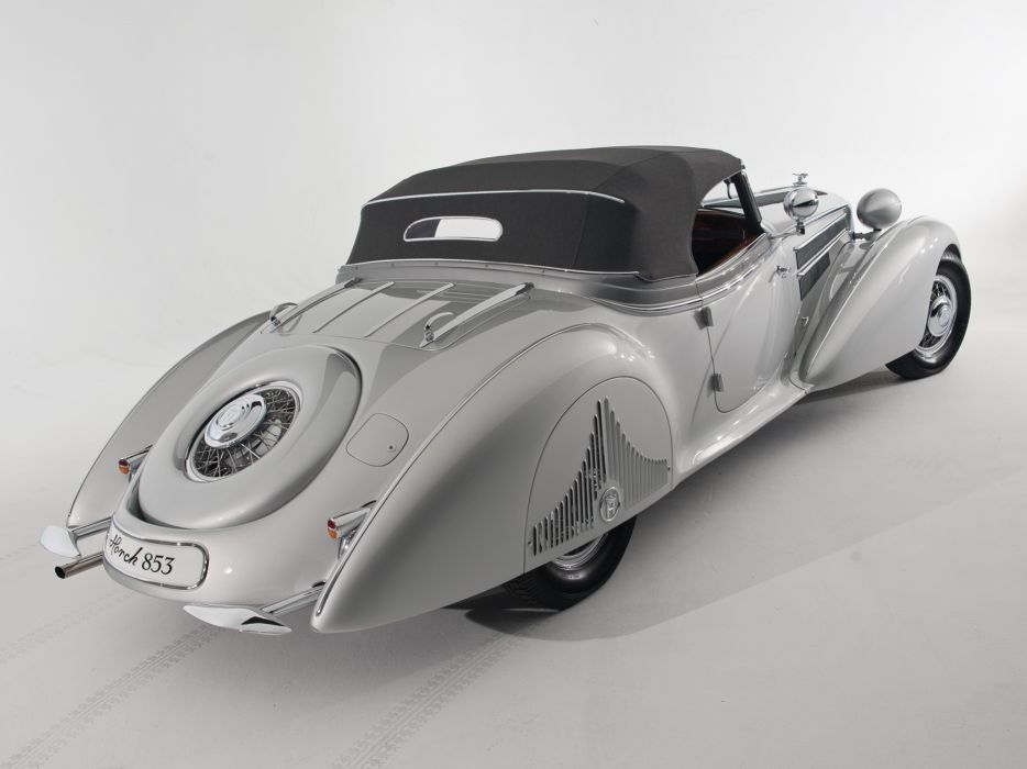 1938 Horch 853 Special Roadster by Erdmann & Rossi retro luxury convertible   gh wallpaper