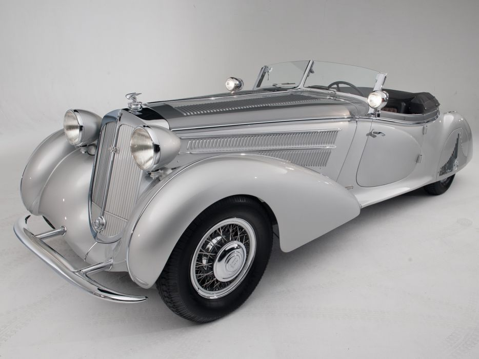 1938 Horch 853 Special Roadster by Erdmann & Rossi retro luxury convertible   h wallpaper