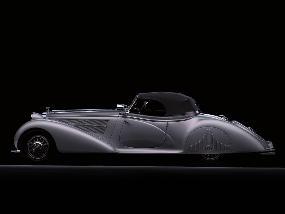 1938 Horch 853 Special Roadster by Erdmann & Rossi retro luxury convertible   j wallpaper